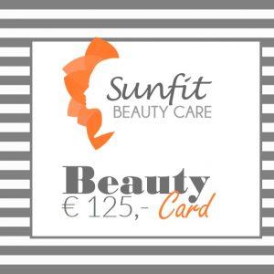 beauty card bon euro 125