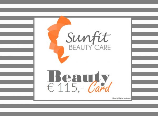 beauty card bon euro 115