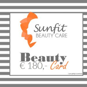 beauty card bon euro 180