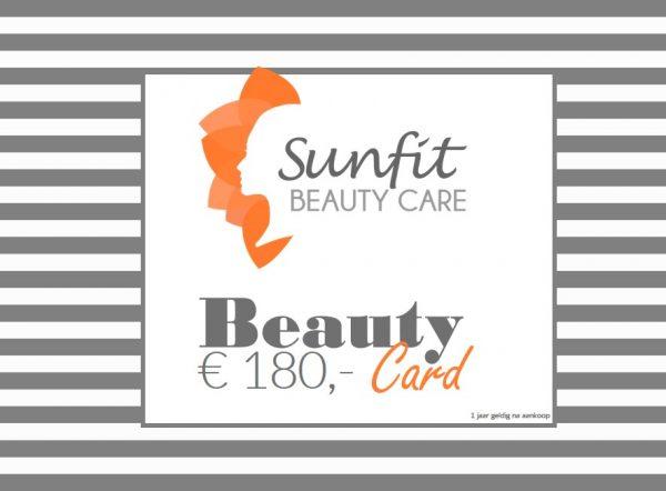 beauty card bon euro 180