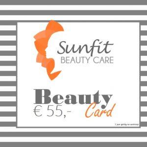 beauty card bon euro 55